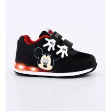 zapatilla infantil Mickey negro