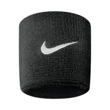 Muñequera swoosh Nike negro