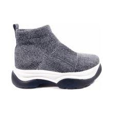 Zapatillas Tres corazones gris