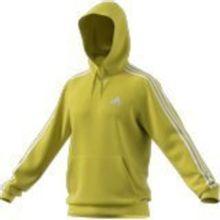 Buzo con Capucha Essential 3 Tiras Amarillo Adidas