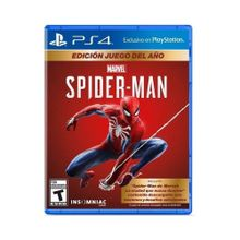 Videojuego Spiderman GOTY Edition PS4