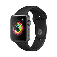 Iwatch Apple Serie 3 38mm Space Gray MTF02LLA Smartwatch Reloj