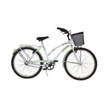 Bicicleta paseo Dama Fiorenza 464 Tempo Blanco y Verde