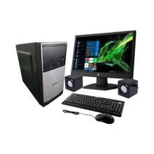 Combo PC BOX AMD QC6000M APU E2 6110 SSD Kit + Monitor