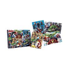 4 Puzzle Avengers de 24, 30 y 36 Pzas