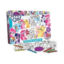 Libro de Actividades Colorear y Borrar My Little Pony