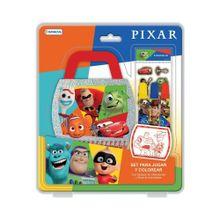 Set Para Jugar Y Colorear Pixar