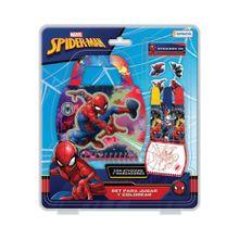 Set Para Jugar Y Colorear Spiderman