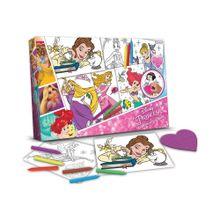 Libro de Actividades Colorear y Borrar Princesas