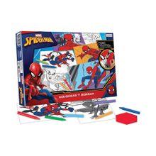 Libro de Actividades Colorear y Borrar Spiderman