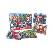 4 Puzzle Super Hero.de 24, 30 y 36 Pzas