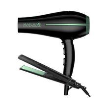 Combo secador de pelo + planchita Gama Matcha