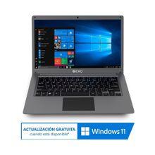 Notebook Exo L37 Plus 4gb 500gb HDD 64gb SSD.